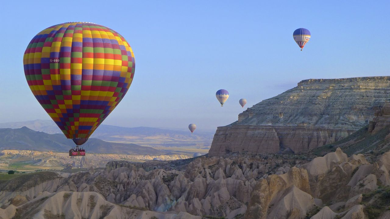 Hot Air Ballooning near Goreme